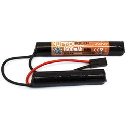 BATTERIE NUPROL 8.4 V 1600 MAH 2 ELEMENTS
