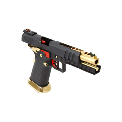 PISTOLET GBB AW CUSTOM HX2032 BLACK GOLD