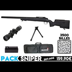 PACK SNIPER SR40 LUNETTE/BI-PIED/BILLES