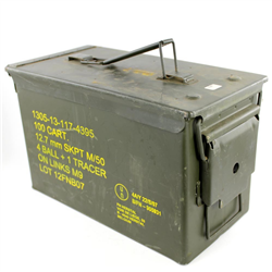 CAISSE A MUNITIONS N°2 US ARMY