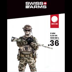 BILLES SWISS ARMS 0.36GR X1000