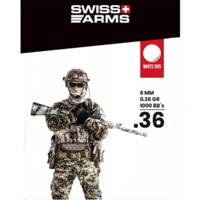 BILLES SWISS ARMS 0.36GR X1000AirsoftAutres