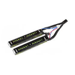 BATTERIE ENERGY AIRSOFT SPECIAL 11.1V 2400MAH DOUBLE STICK