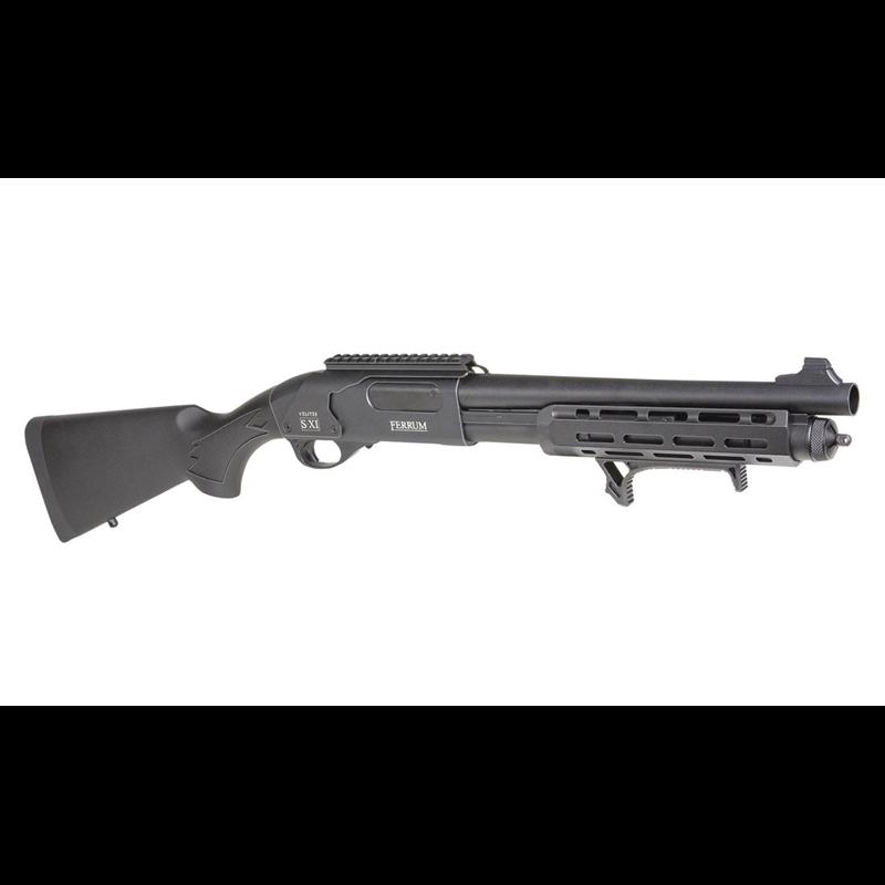 FUSIL A POMPE SECUTOR FERRUM S-IX BLACKAirsoftRéplique fusil à pompe