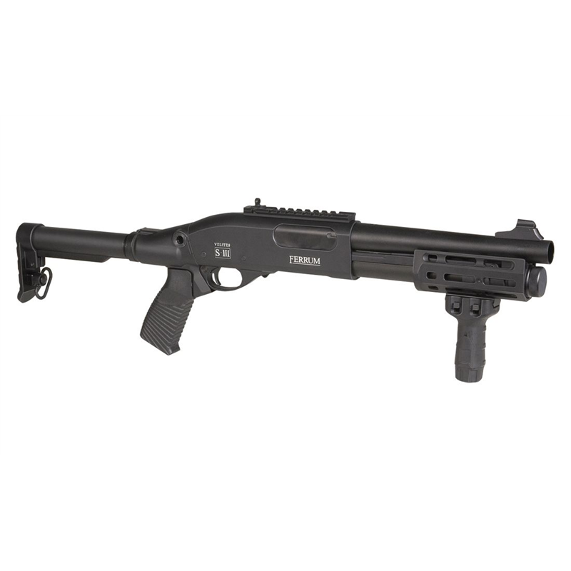 FUSIL A POMPE SECUTOR FERRUM S-III BLACKAirsoftRéplique fusil à pompe