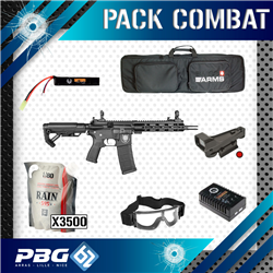 PACK COMBAT AEG SAIGO SHINOBI BLACK