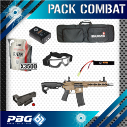 PACK COMBAT AEG SAIGO SHINOBI TAN