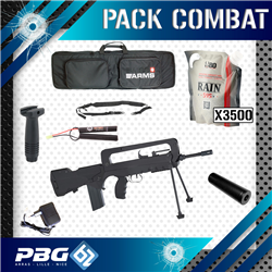 PACK COMBAT FAMAS+POIGNEE+HOUSSE+SANGLE