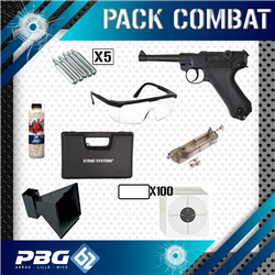 PACK COMBAT LUGER P08 CO2