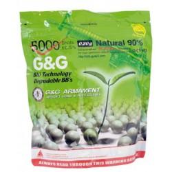 BILLES BIO G&G 0.20G PAR 5000 PCS