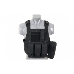 GILET PLATE CARRIER SIDE NOIR