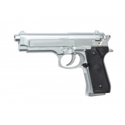 PISTOLET ASG RESSORT M92 FS CHROME