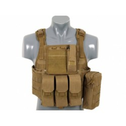 GILET PLATE CARRIER SIDE TAN
