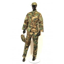 ACU KIT WOODLAND CAMO XL
