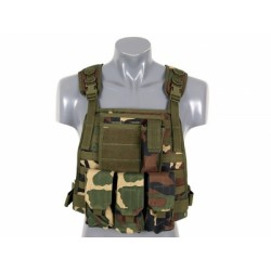 HARNAIS PLATE CARRIER WOODLAND