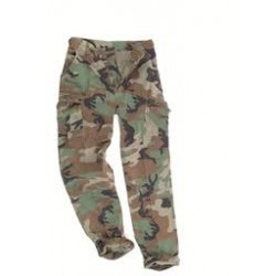 PANTALON US BDU WOODLAND M