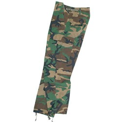 PANTALON US BDU RS WOODLAND L