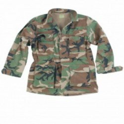 VESTE MILTEC US BDU RS WOODLAND XL